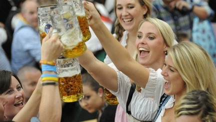 Мюнхен готовится к Октоберфесту